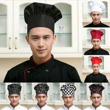 Professional Stretchy Adjustable Chef Hat Men Cap Kitchen Cook Baker Waiter Cap