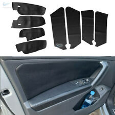 Inner Synthetic Leather Door Panels Armrest Cover Lid For 2017-2019 VW Tiguan
