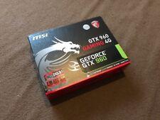MSI NVIDIA GeForce GTX 960 (4096 Mo) (jeu GTX960 4 g) carte graphique