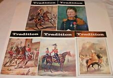 5 X Tradition  International Journal Of Society Of Military Collectors Magazines