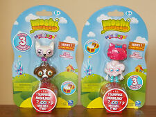 Moshi Monsters 2x3-Pack Moshlings=6 Figures,Series-1 Lady McNulty Purdy Dipsy