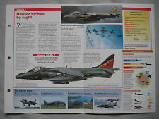 Aircraft of the World Card 141 , Group 5 - BAe/McDonnell Douglas Harrier GR.Mk 7