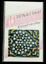 Bindi Fleur Bijou Decoration Stickers Autocollant pour Ongles Art Nail  3162