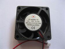 1 pcs Brushless DC Cooling Fan 7 Blade 12V 6020S 60x60x20mm
