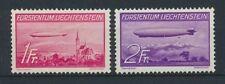 Liechtenstein 149/50 sauber mit Falz / Zeppelin ................................
