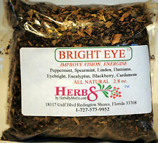 Herbs by Merlin BRIGHT EYE ( Energy,  Improve Vision) Organic Tea 2.8 oz