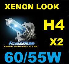 H4 White Xenon HID Look Headlight Bulbs HID Honda Civic EG EH 91 92 93 94 95 ..