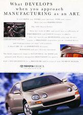 1994 Toyota Celica - Develops - Classic Vintage Advertisement Ad D182