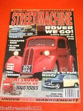 STREET MACHINE - '51 FORD WOODY - JUNE 1996