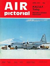AIR PICTORIAL APR 73: ROYAL NEW ZEALEND AIR FORCE/ RAF GOOSE BAY/HS 125 AIR TEST