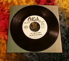 "Billy Butler & The Chanters ‎– I Can't Work No Longer~White label promo~7"" 45"