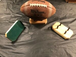 Vintage Antique Football Displays