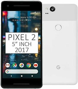 Google Pixel 2 64/4GB Android Google Unlocked Version Smartphone, Clearly White