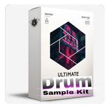 Ultimate Drum Samples Kit| Trap Loops FL Studio Logic MPC Pro Tools Live