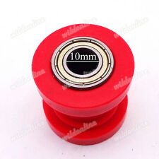 Rot 10mm Pulley Spanner Kettenrolle Für SSR Pitster Pit Dirt Bike