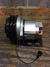 Hydraulic Clutch Pump 12v double v belt drive casappa Snow Plow Salt Spreader SL