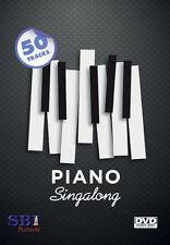 PIANO SING-A-LONG HITS - SBI KARAOKE DVD - 50 HIT SONGS