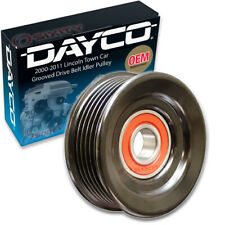 Dayco Grooved Drive Belt Idler Pulley for 2000-2011 Lincoln Town Car Grooved wd