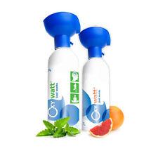 OxyWatt - 95% reiner Sauerstoffflasche - 500ml Sauerstoffmaske Inhalation