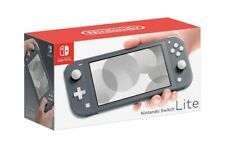 NINTENDO SWITCH LITE 32GB - Gray - In Hand Ready To Ship - NEW