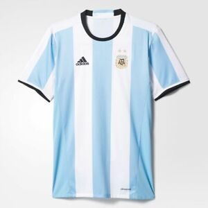 adidas Argentina Youth Home Soccer Jersey #Boys #Argentina 2016-17