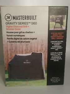 Masterbuilt MB20080220 Gravity Series 560 Digital Charcoal Grill Smoker Cover🔥