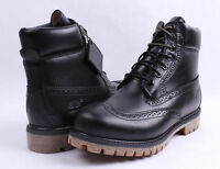 TIMBERLAND® BLACK QUARTZ MEN'S LIMITED RELEASE 6-INCH WATERPROOF BROGUE BOOTS