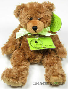 """ST. JUDE SCRAGGLES BEAR ITEM NO.18643 FIRST & MAIN INC 2006 12"""" 7-ELEVEN EDITION"""