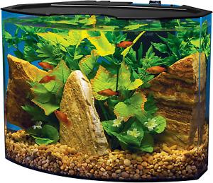 Crescent Acrylic Aquarium Kit, Energy Efficient LEDs