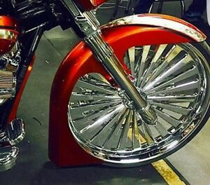 """Ultra Classic/Touring Harley Davidson 30"""" wrap Fl style fender  Touring Flh"""