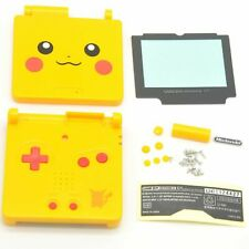 GBA SP GameBoy Advance SP Replacement  Shell Pikachu Pokemon Free Shipping