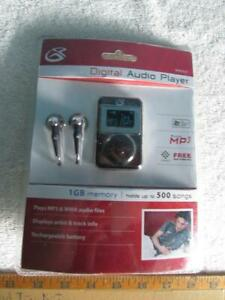 GPX Digital Audio Player MW3837 Unopened Package