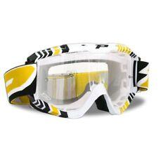 Progrip 3450 Edge Brille Goggle gelb/klar für Motocross MX SX Enduro