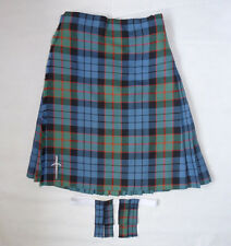 "Scottish Made 'Fletcher' Tartan 100% Wool 8 Yard Kilt, Pin & Flashes 28"" - 30"""