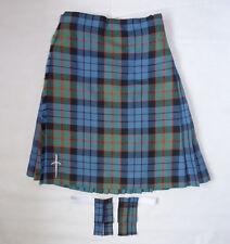 "Scottish Made 'Fletcher' Tartan 100% Wool 8 Yard Kilt, Pin & Flashes 28"" - 30"""