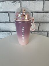 More details for starbucks 2021 korea blossom chubby dome tumbler limited edition 355ml
