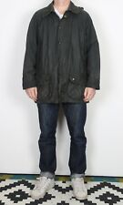 "BARBOUR Beaufort Wax Jacket Chest 46"" XL XXL Navy Blue (K1N)"