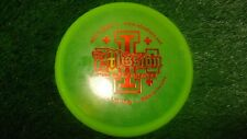 new Abc Discs golf The Mission mid-range driver green 179 gold plastic
