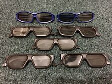USED Master Image Passive 3D Glasses Lot of 7 Total