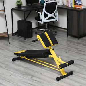 Multi-Functional Adjustable Hyper Extension Bench Roman Chair Dumbbell Bench