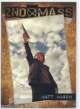 Falling Skies Season 1 Trading Chase Card  2nd Mass SM6 Serial Number 091 of 325