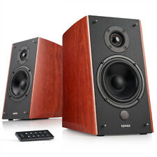 Edifier R2000DB Powered Bluetooth Bookshelf Speakers - Optical Input - Wood