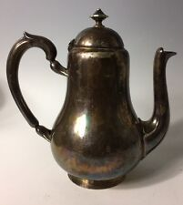 circa 1900 French Silverplate Christofle Teapot