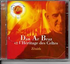 2 CD ALBUM LIVE 19 TITRES--DAN AR BRAZ ET L'HERITAGE DES CELTES--ZENITH 1998