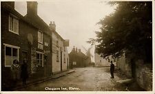 More details for elston near newark. chequers inn & distant windmill.