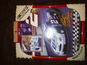 Rusty Wallace Nascar collectible 8 by 10 never out of the box
