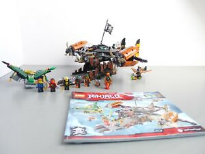 LEGO 70605: NINJAGO MISFORTUNE'S KEEP  **COMPLETE WITH INSTRUCTIONS**