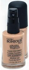 Bonjour Paris Photo Match Invisible Foundation, Fair Skin, 30Ml