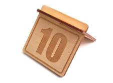 Origine-en bois table de chiffres (Pack 1-10) Signe pour les restaurants, bars et cafés