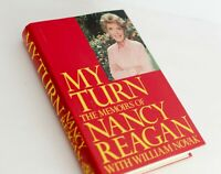 My Turn: The Memoirs of Nancy Reagan, William Novak; Ronald Reagan FIRST EDITION
